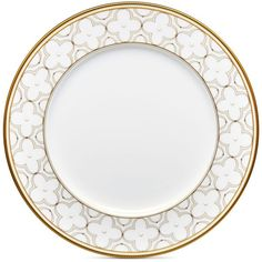 Noritake Trefolio Gold Dinner Plate ($28) ❤ liked on Polyvore featuring home, kitchen & dining, dinnerware, class gold, gold dinnerware, formal dinnerware, noritake, noritake dinnerware and noritake dinner plates