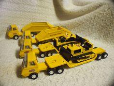Tonka Tiny Construction Trucks.