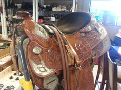 Horse saddle #saddle #horse #riding