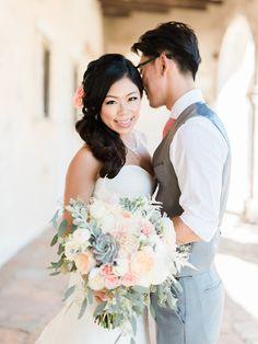 sweet peachy makeup and hair by | rachel . photography by emma at honey honey photography (www.hoooney.com) @kellyzhang #kellyzhangstudio #summer #natural #peach #pastel #wedding #bride #bridal #makeup #hair #naturalmakeup #hairdown #honeyhoney #honeyhoneyphotography