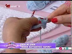 Tunus İşi Bebek Battaniyesi Yapılışı | İzlesene.com Video