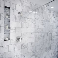 Bathroom Ideas Discover Moen Vichy Shower Faucet with Trim and Posi-Temp Master Bedroom Bathroom, Master Shower, Modern Bathroom, Small Bathroom, Bathroom Ideas, Bathroom Tile Showers, Shower Ideas, Rental Bathroom, Big Bathrooms