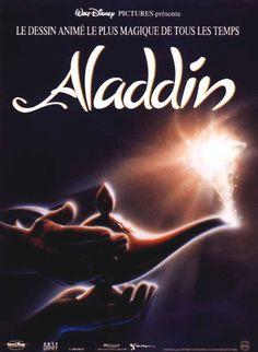 Aladdin #Disney / affiche française