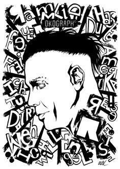 Fan art de Rammstein, réalisé par Okograph. En vente sur oko-art.alittlemarket.com. ✉ : okograph@outlook.fr.  Reproduction interdite. #art #oeuvre #illustration #graphisme #musique #metal #industriel #punk #alternatif