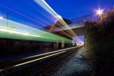 aaron durand - streaking trains