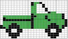 Truck - cross stitch pattern!