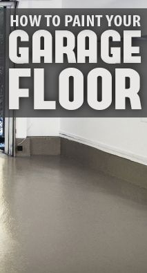 How to paint your garage floor. Painting your garage floor is an easy way to spruce up your garage or create more living space in your home. The first step is to purchase high quality paint or epoxy that is specifically designed ...