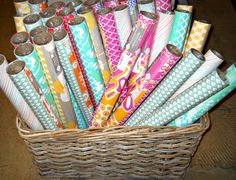 Double sided gift wrap! All occasion...