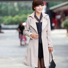 Double-Breasted Trench Coat from #YesStyle <3 Mooiee YesStyle.com