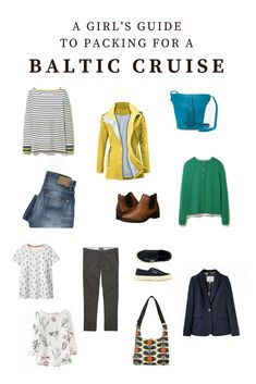 The best Baltic Cruise packing list for female travelers The Best Balti … – european travel outfit summer Packing List For Cruise, Cruise Europe, Cruise Travel, Cruise Vacation, Family Cruise, Disney Cruise, Honeymoon Cruise, Summer Vacations, Vacation Packing
