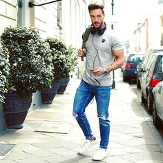 WEBSTA @ magic_fox - Today's look*__________Who will visit the Fibo this weekend? I will be there tomorrow excited to meet you all Have a nice evening! Men Looks, Casual Outfits, Men Casual, Fashion Outfits, Daniel Magic Fox, Urban Fashion, Mens Fashion, Fashion Fashion, Fashion Design