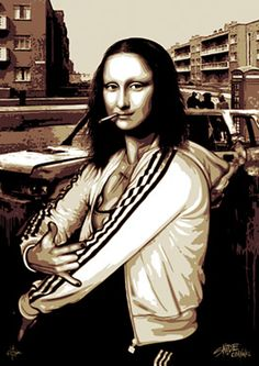 #monalisa like you've never seen her-she now reminds me of Roseanne Barrs tv daughter Darlene (Sara Gilbert!