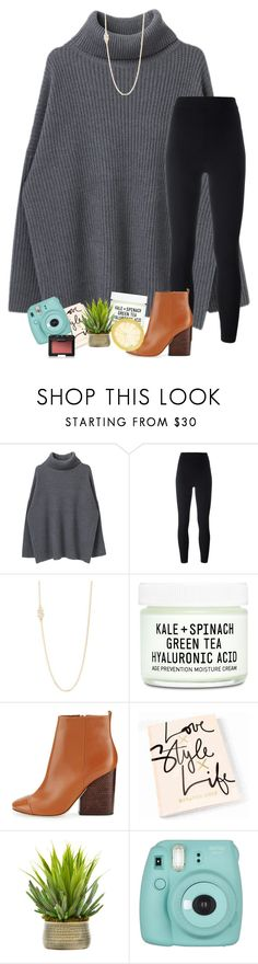 """fall breeze & leaves"" by yasmeen-s ❤ liked on Polyvore featuring Yeezy by Kanye West, BaubleBar, Youth To The People, Tory Burch, Creative Displays, Fujifilm and NARS Cosmetics"