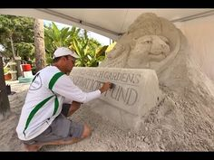 Who doesn't remember building sand castles at the beaches of our youth? Heap up a pile of sand and start slapping it with the palms of your hands, building m. Building Sand, Tampa Bay Area, Elle, Digital News, Sand Sculptures, Florida Travel, Palm Beach, Castles, Beaches