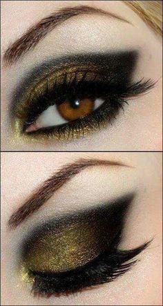 blackened gold