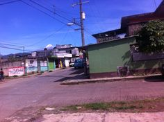 A picture of the church we went to Sunday morning in Fortin.