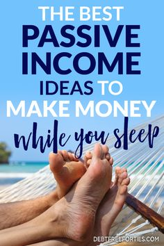 Tired of working 60+ hours a week? Check out these passive income ideas to help you continue to earn without the weekly work! #passiveincome #debt #finance #income