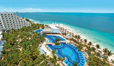 Hotel Riu Caribe, Cancun, Mexico | Resort Cancun- MAKE SUre yOU STAY IN THE TOWER not OCEAN FRONT...the ocean fronts leak when it rains.....