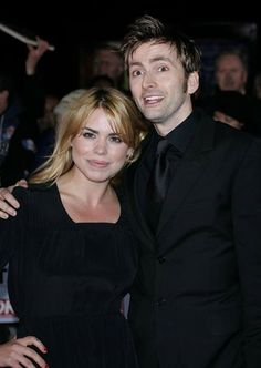 PHOTO OF THE DAY - 14th July 2015: David Tennant and Billie Piper at the NTAs - 2006
