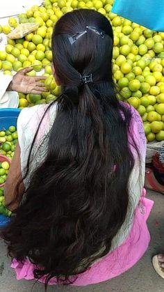 Long Silky Hair, Long Black Hair, Super Long Hair, Beautiful Girl Photo, Beautiful Long Hair, Gorgeous Hair, Indian Long Hair Braid, Braids For Long Hair, Loose Hairstyles