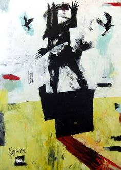 Title: Golden Field Medium: Acrylic on Canvas  Size: 106 x 152 cm
