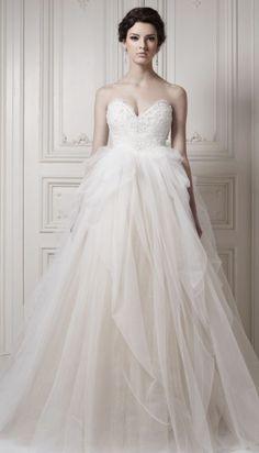 Wedding dress idea; Featured Dress: Ersa Atelier