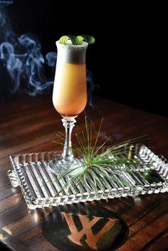 A cocktail form The W, a speakeasy in Lee's Summit Missouri