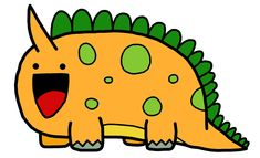 cute dinosaurs animated | Dinosaur by ~easterbonnie on deviantART