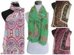 Partij 5 stuks soepele sjaals 5 stuks De groene sjaal word ook geleverd in aqua blauw http://www.partij-specialist.nl/