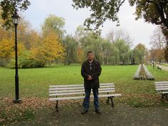 Bogdan Fiedur relaxing in a park in Naleczow resort by bogdanfiedur, via Flickr My Nov 2012 trip to Poland with my family