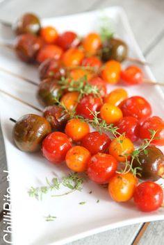 grillowane cherry pomidorki