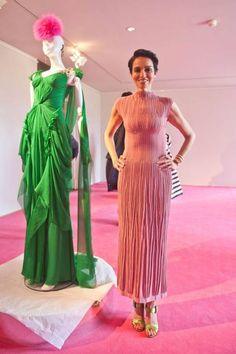 Christian Lacroix for Elsa Schiaparelli couture runway fashion Paris Fall 2013