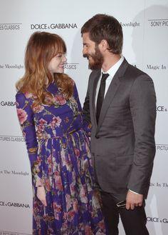 Pin for Later: Ein Blick zurück auf Emma Stone's und Andrew Garfield's süßeste Momente