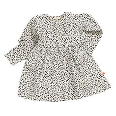 Small Dots Dress - Tinycottons Online - Hibernation collection - Baby Kids Teens Webshop Goldfish.be