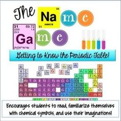 FREE! Getting to know the Periodic Table
