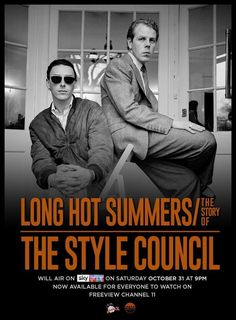 The Style Council, Paul Weller, Long Hots, Fiction Film, Summer Story, Sky Art, Documentary Film, Nonfiction, Documentaries