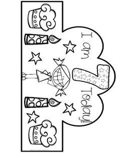 Birthday Crowns! {FREEBIE} Happy Birthday Crown, Happy Birthday Decor, Birthday Crowns, Girl Birthday, Preschool Birthday, Classroom Birthday, Classroom Fun, Preschool Crafts, Birthday Bulletin Boards