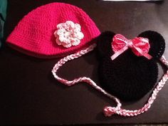 cartera de minnie a crochet