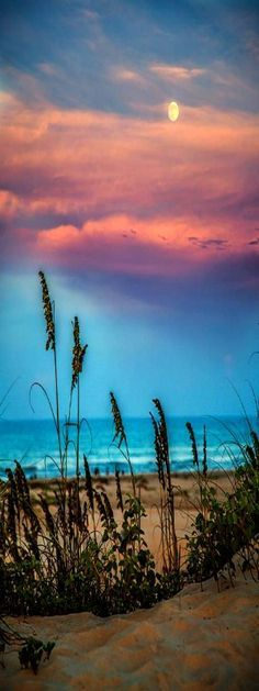 The Moon And The Sunset At South Padre Island Photograph ✈✈✈ Here is your chance to win a Free International Roundtrip Ticket to anywhere in the world **GIVEAWAY** ✈✈✈ https://thedecisionmoment.com/free-roundtrip-tickets-giveaway/