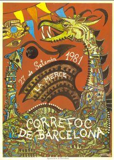 Correfoc de Barcelona La Mercè, 27 de setembre de 1981