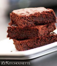 brownie sans beurre et sans oeuf