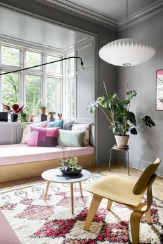 Apartment living has never looked so chic! Step inside this colourful city apartment and discover how this large family makes it work Room Inspiration, Room Design, Interior Design, House Interior, Home, Living Room Lighting, Home Decor, Living Room Designs, Room
