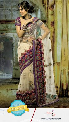 Fall Fashion Trends | Designers Saree Shop here www.fashion4style.com/woman/clothing/designer-sarees