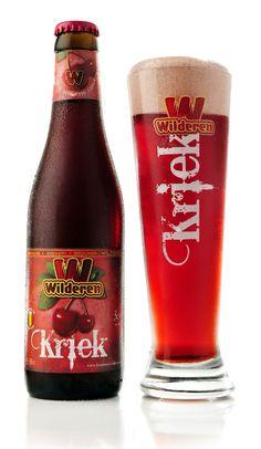 Wilderen Kriek | Belgian Beer All Beer, Wine And Beer, Best Beer, Belgian Beer, Belgian Food, Spirit Drink, Beers Of The World, Beer Packaging, Beer Label