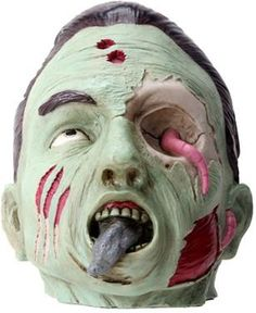 Scary Male Zombie with Toung Out and Worm Eye Figurine Statue Display ** You can get more details by clicking on the image.Note:It is affiliate link to Amazon.