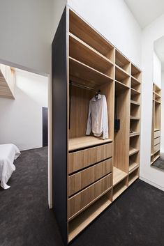 Stunning light timber and matte black joinery with brass deta… – [pin_pinter_full_name] Ultimate wardrobe. Stunning light timber and matte black joinery with brass de… Walk In Wardrobe Design, Diy Wardrobe, Bedroom Wardrobe, Small Walk In Wardrobe, Black Wardrobe Closet, Walking Closet, Walking Wardrobe Ideas, The Block Bathroom, Save For House