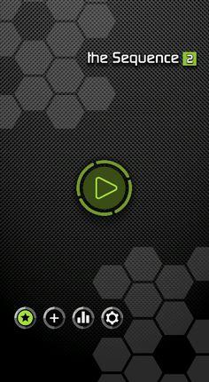 Sequence [2] main menu