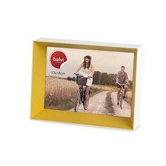 Portafoto legno laccato giallo for €18.90 #onselz