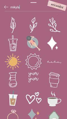 Instagram Hacks, Blog Instagram, Instagram Emoji, Creative Instagram Stories, Instagram And Snapchat, Instagram Story Ideas, Instagram Quotes, Snapchat Stickers, Insta Photo Ideas