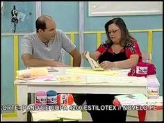 Ateliê na TV - Estilotex - Toalha com crivo - Leila Jacob - YouTube